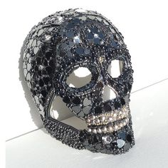 Hey, I found this really awesome Etsy listing at http://www.etsy.com/listing/112984123/black-steampunk-crystal-skull-magical