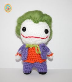 Joker (DC) de CrochetinYou en Etsy