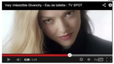 Givenchy Very Irresistible commercial shot with Amanda Seyfried