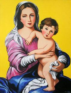 Madona con niño, Antonio de Felipe