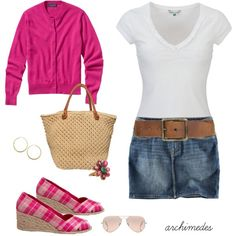 Summertime, Summertime, created by archimedes16 on Polyvore