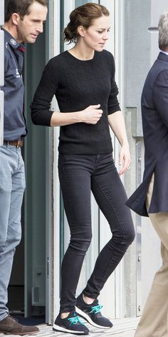 This Is How Kate Middleton Does Casual Fridays from InStyle.com