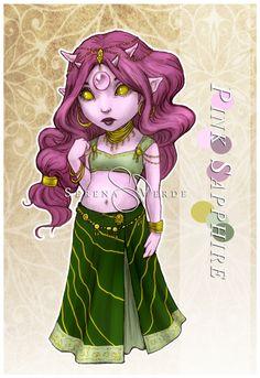 Pink Sapphire :: CrispyWonderMint by NadezhdaVasile