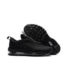 e4194573e56 Men s Nike Air Max 97 KPU TPU All Black Shoes Hot Sale Online