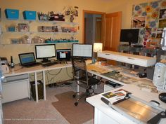 My Desk Area - Scrapbook.com