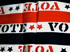 Great for a Political National Convention Bag or make 9 ties from it !