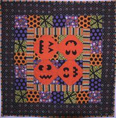 Plentiful Pumpkins quilt pattern at Sew Cute Quilts