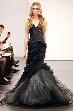 633 best vera wang images on pinterest bridal gowns vera wang i would love to capture a modern bride in a black dress black wedding dress from vera wang fall 2012 junglespirit Image collections