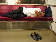 Sleeping experiences in Japan