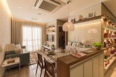 Foto do apartamento decorado de 2 dormitórios e 46,52 m² privativos Follow Santo André