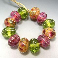 Lampwork Beads:  donna millard