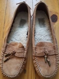 c2785d22b92 Ugg Australia Tan Slippers Women s Size 8 Moccasin Loafer  fashion   clothing  shoes  accessories  womensshoes  slippers (ebay link)