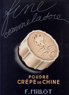 #design #Perfume #fragrance #cologne #cosmetic #body #illustration #packaging #design #ad #advertising #advertisement #vintage #powder #poudre