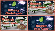 Buy Christmas & New Year by BeeEm on VideoHive. Project features: Two projects included! No plugins required Very easy to use – just put your footages in placehold. 3d Christmas, Christmas And New Year, Christmas Ornaments, After Effects Projects, Low Poly, Happy Holidays, Edit Text, Create, Holiday Decor