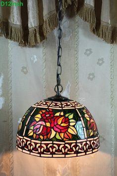 Rose Tiffany Lamps  12S0-34P11