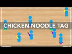 Chicken Noodle Tag is an exciting chasing/fleeing activity that will get your students into one-on-one situations in which they must apply chasing or fleeing tactics in order to be successful. It's one of the culminating activities of my chasing/fleeing u Physical Education Activities, Elementary Physical Education, Pe Activities, Health And Physical Education, Music Education, Physical Fitness, Outdoor Activities, Gym Games For Kids, Exercise For Kids