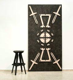 Konstantin Achkov modern chair puzzle