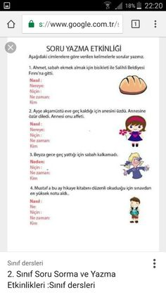 Turkish Lessons, Turkish Language, Education, Math, School, Reading, Math Resources, Onderwijs, Learning