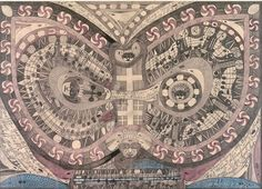 Self-taught Swiss artist Adolf Wolfli, in Raw Vision 18 and 75. http://rawvision.com/articles/adolf-wolfli-archives http://rawvision.com/articles/wolflis-sound-pieces  Image: courtesy Phyllis Kind