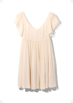 Ruffle Tiered Sleeve Dress