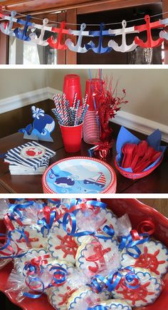 Sailboat Party Decorations 1st Birthday For Girls Themes 2nd