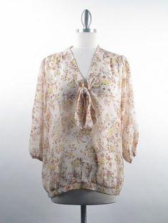 $54 Dreamy floral blouse....