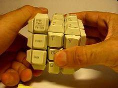Keyboard Rubik's Cube