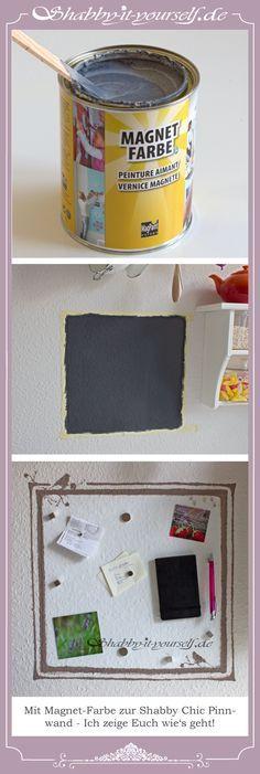 In meiner Küche habe ich mir ganz einfach mit Magnet-Farbe ein - wie kann ich meine küche streichen