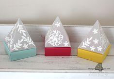 Stampin' Up! Leuchtpyramide LED-Teelicht Freunde mit Ecken und Kanten