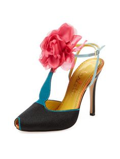Culturally inspired shoes and clutches with personality and quirk