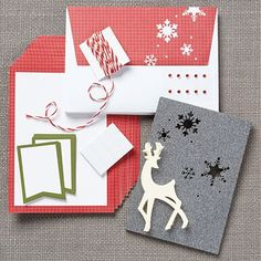 Close To My Heart offers a fast and easy way to make this a home made Christmas. #cardmaker #papercrafter