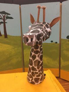 Lawrence Jones Middle School - Lion King Jr Giraffe head with bike helmet