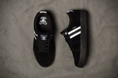 #Huf Pepper Black Fall Footwear Delivery Two #sneakers