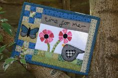 Amy's Mug Rug by The Patchsmith, via Flickr