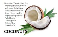 Medical and Health Science: Health Benefits of Coconut!!