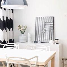 Decoupage Chair, Marimekko, Cambria Quartz Countertops, White Wedding Decorations, Ceramic Soap Dish, Shabby Chic, Curtains, Interior, Instagram