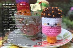 Amigurumi Food: amigurumi