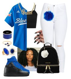 """""""So Freshhh, So Cleaan"""" by queen-sugah900 ❤ liked on Polyvore featuring WearAll, NIKE, Charlotte Russe, MICHAEL Michael Kors, Effy Jewelry, Katerina Makriyianni and Moschino"""