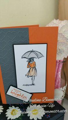 Beautiful You (gray, orange color combo)
