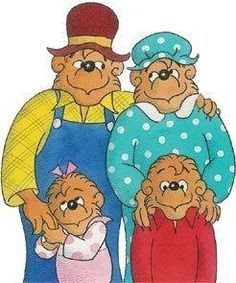 The Berenstein Bears books:  I had a bunch of them AND used to watch the cartoon every Saturday morning!  :)