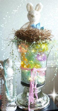 Let's Make Easter Egg Lights ~ Easy & Pretty