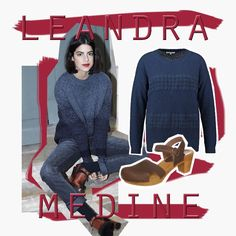 Leandra Medine - At the Corner by AMAZE Celebrities