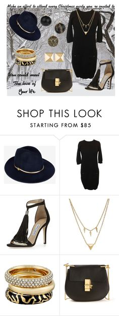 """""""Fifty ways to wear Chanel # 46"""" by sharon-griffith ❤ liked on Polyvore featuring Ted Baker, Chanel, Jimmy Choo, Edge of Ember, Michael Kors, Chloé and Eddie Borgo"""