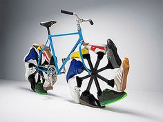 Collection of creative and unusual bicycle designs from around the world.