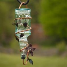 This is a guide about making a hummingbird feeder. Many people enjoy having these quick flying little visitors. Putting out a hummingbird feeder will help attract them to your yard.
