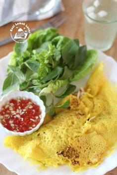 Banh Xeo (Vietnamese Crepes) 越南煎饼