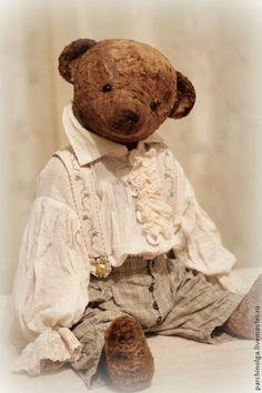 Герман - коричневый,тедди,тедди мишка,тедди медведи,мишка-тедди,винтажный стиль