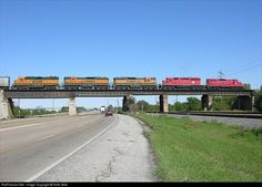 RailPictures.Net Photo: TRRA 1751 Terminal Railroad Association of St. Louis EMD SD7R at Venice, Illinois by Keith Belk