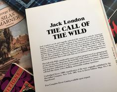The Call of the Wild, Jack London FYI–this is 1 of 6 Dover Thrift Editions that comprise our Twitter giveaway. We're choosing a random winner tomorrow, so check it out! :D