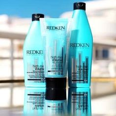 Redken High Rise Volume Lifting Shampoo, a professional volumizing shampoo that cleanses fine & flat hair & adds body with filloxane and softening polymers. Redken Hair Products, Beachy Hair, Voluminous Hair, Celebrity Hair Stylist, Hair Quotes, Free Hair, Beauty Supply, Spa Day, Beauty Bar